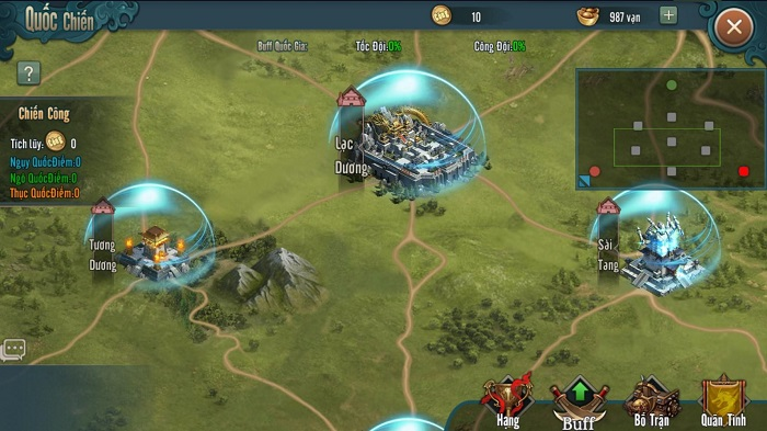 Đế Vương Tam Quốc là Top 1 game chiến thuật Tam Quốc bởi những hoạt động này?! 2