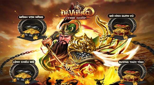 Đế Vương Tam Quốc là Top 1 game chiến thuật Tam Quốc bởi những hoạt động này?!
