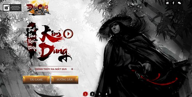 Game online đình đám Độc Cô Cầu Bại 2012 chính thức quay trở lại Việt Nam 2