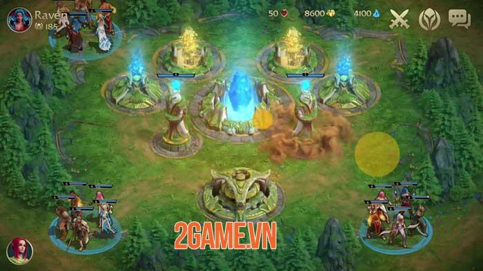 Guardians of Elderon - Game chiến thuật xây dựng nhiều người chơi thú vị 0