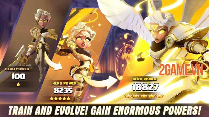 Valor Legends: Eternity - Game nhập vai chiến thuật nhàn rỗi thế hệ mới 1