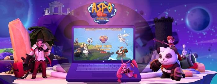 Cộng đồng game thủ Việt Nam háo hức chờ đón tựa game phép thuật thẻ bài đấu tướng mới có tên ASPO World 1