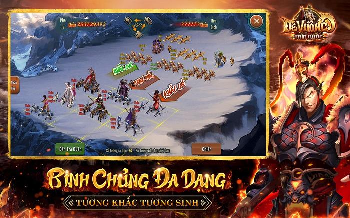Tặng 750 giftcode Đế Vương Tam Quốc mừng chính thức ra mắt 4