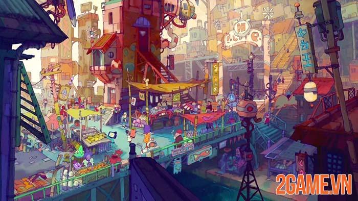 Eastward - Game Indie gây ấn tượng mạnh từ cái nhìn đầu tiên 2