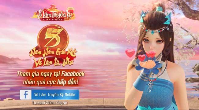 """Mừng sinh nhật 5 tuổi, Võ Lâm Truyền Kỳ Mobile tổ chức sự kiện """"thổi nến online"""""""