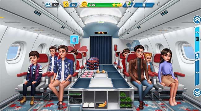 Airplane Chefs – Thử thách phục vụ mỹ thực trên máy bay