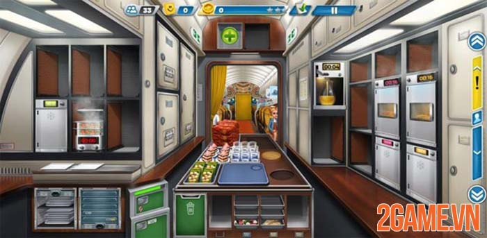Airplane Chefs - Thử thách phục vụ mỹ thực trên máy bay 2