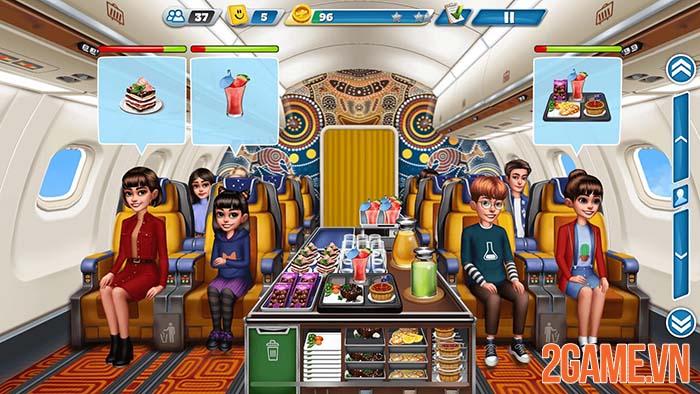 Airplane Chefs - Thử thách phục vụ mỹ thực trên máy bay 3