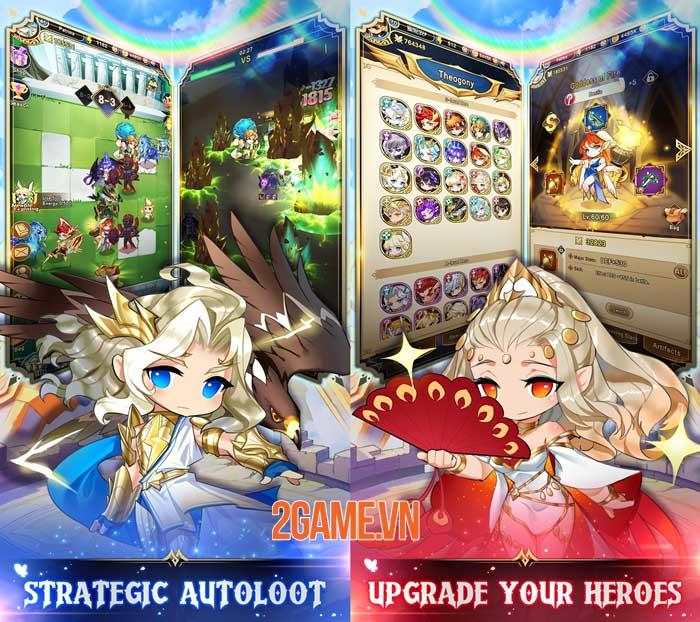 Olympus: Idle Legends - Game nhập vai chiến thuật phong cách manga 0