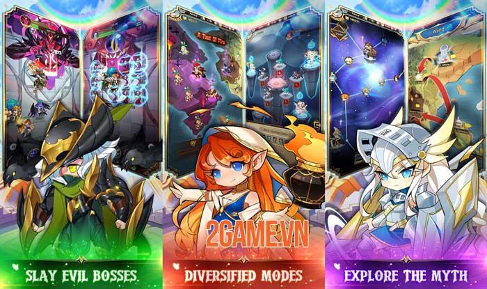 Olympus: Idle Legends - Game nhập vai chiến thuật phong cách manga 1