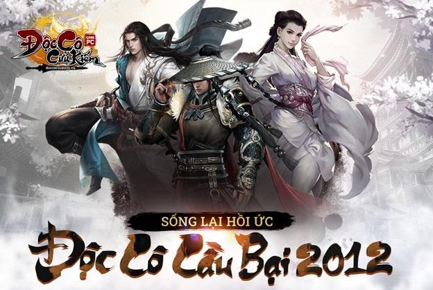Đúng 9h30 ngày 20/9 game PC Độc Cô Cầu Bại 2012 chính thức khai mở máy chủ Hoa Sơn 0