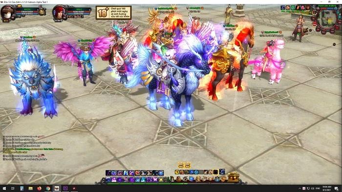 Đúng 9h30 ngày 20/9 game PC Độc Cô Cầu Bại 2012 chính thức khai mở máy chủ Hoa Sơn 9