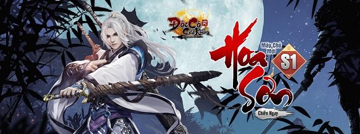 Đúng 9h30 ngày 20/9 game PC Độc Cô Cầu Bại 2012 chính thức khai mở máy chủ Hoa Sơn 1