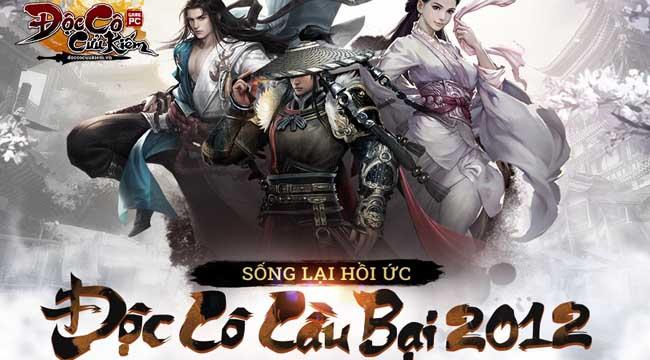 Đúng 9h30 ngày 20/9 game PC Độc Cô Cầu Bại 2012 chính thức khai mở máy chủ Hoa Sơn