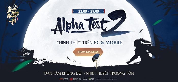 Vượt mốc 770.000 người đăng ký trước, Nhất Mộng Giang Hồ VNG bước vào giai đoạn Alpha Test 2 2