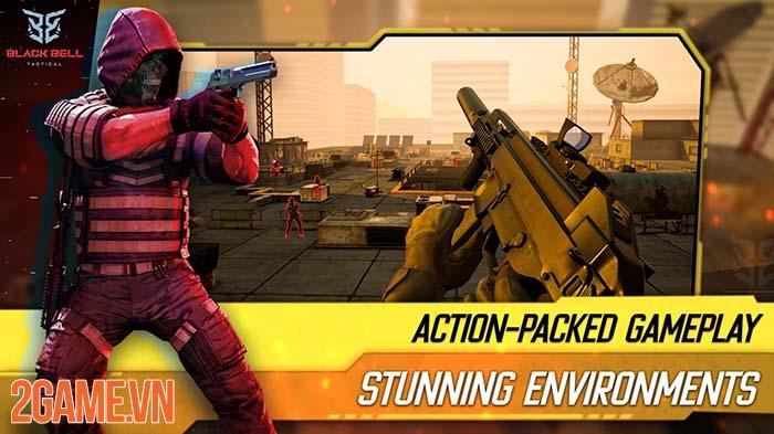 Black Bell Tactical - Game bắn súng mobile với trải nghiệm chân thật 0