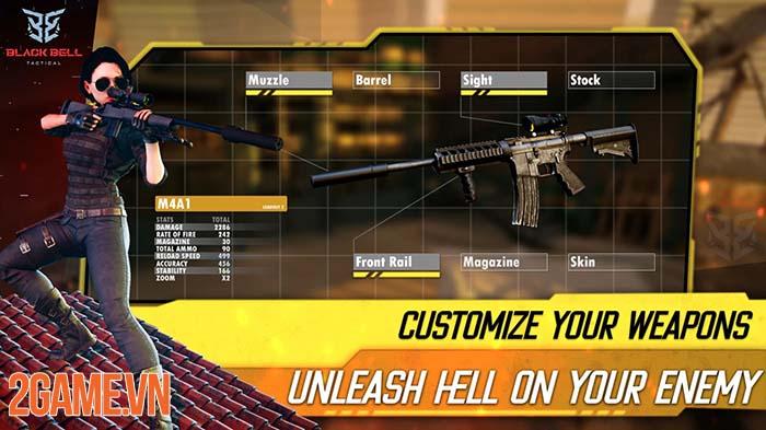 Black Bell Tactical - Game bắn súng mobile với trải nghiệm chân thật 3