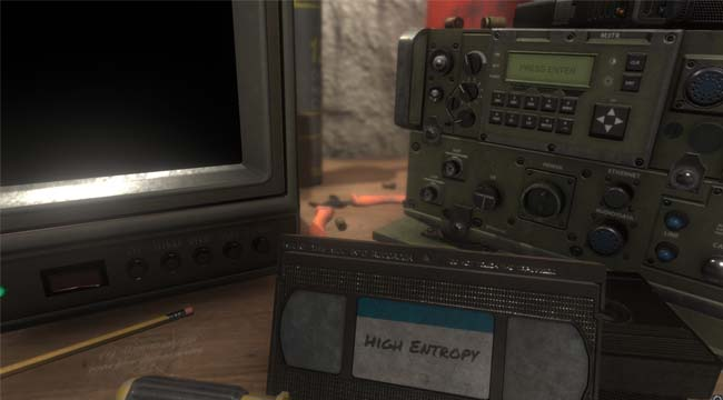 High Entropy: Challenges – Game giải đố hóc búa bối cảnh thập niên 90