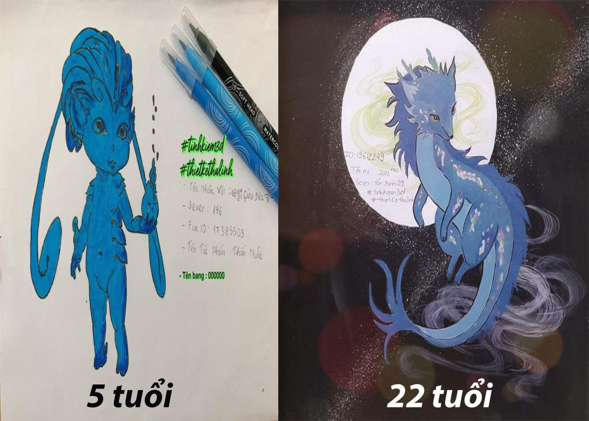 """Tình Kiếm 3D: Khi tài năng hội họa của game thủ """"lên tiếng""""! 8"""