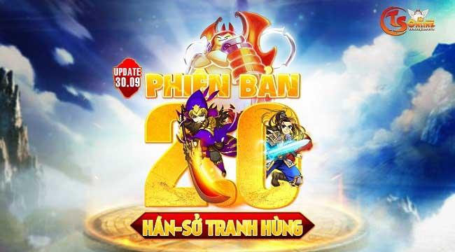 Hán – Sở tranh hùng: Tâm điểm của TS Online Mobile 2.0