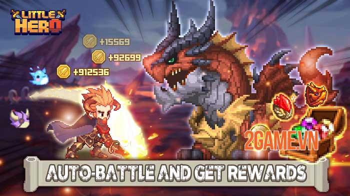Little Hero: Idle RPG - Game nhập vai nhàn rỗi ngăn chặn âm mưu Đại Ác Quỷ 0