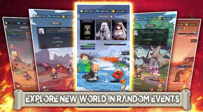 Little Hero: Idle RPG – Game nhập vai nhàn rỗi ngăn chặn âm mưu Đại Ác Quỷ