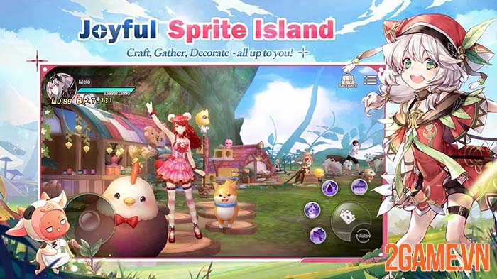 Sprite Fantasia - Khi game thủ mobile bước vào thế giới thần tiên 3