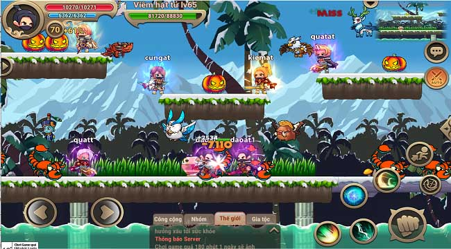 Game thủ Việt sắp được chơi Nhẫn Giả Truyền Kỳ – game MMO side-scrolling cực cuốn đồ họa chibi
