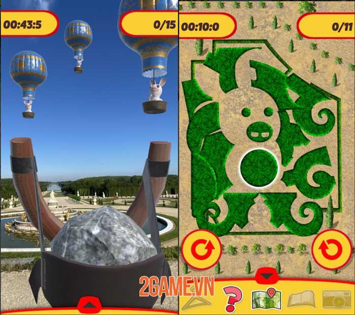 Rabbids at Versailles - Game AR lấy bối cảnh khu vườn đậm màu sắc tuổi thơ 1
