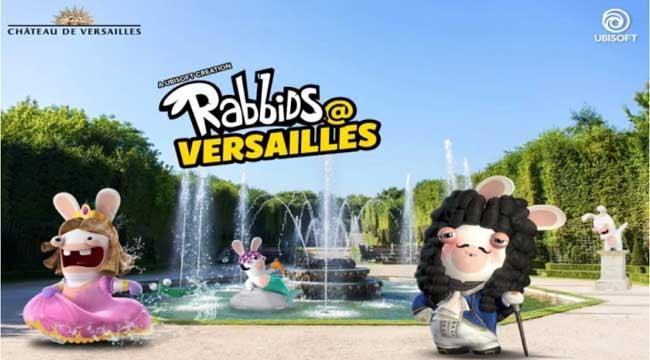 Rabbids at Versailles – Game AR lấy bối cảnh khu vườn đậm màu sắc tuổi thơ