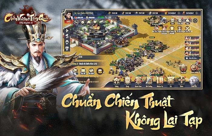 Chiến Vương Tam Quốc sở hữu lối chơi chiến thuật chuẩn mực không pha tạp 0