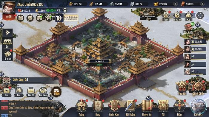 Chiến Vương Tam Quốc sở hữu lối chơi chiến thuật chuẩn mực không pha tạp 1