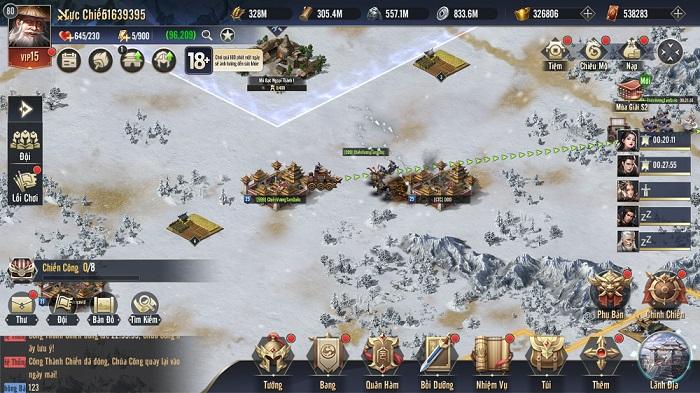 Chiến Vương Tam Quốc sở hữu lối chơi chiến thuật chuẩn mực không pha tạp 2