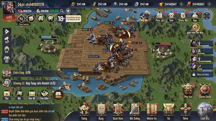 Chiến Vương Tam Quốc sở hữu lối chơi chiến thuật chuẩn mực không pha tạp 5