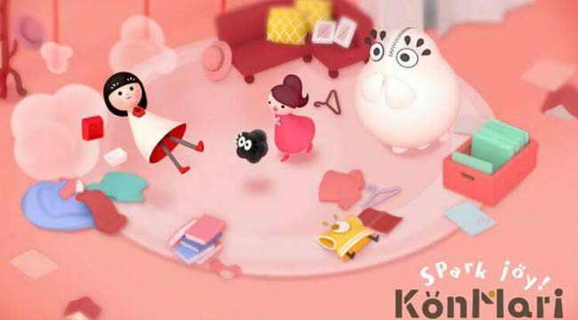 KonMari Spark Joy! – Game giải đố với đồ họa cực kỳ đáng yêu