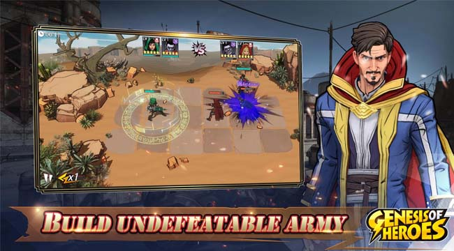 Genesis of Heroes – Biệt đội siêu anh hùng dưới góc nhìn chiến thuật