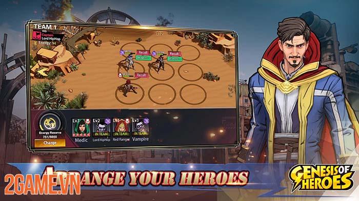 Genesis of Heroes - Biệt đội siêu anh hùng dưới góc nhìn chiến thuật 0