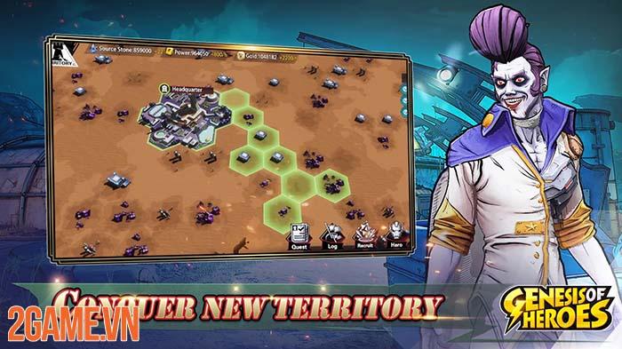 Genesis of Heroes - Biệt đội siêu anh hùng dưới góc nhìn chiến thuật 2