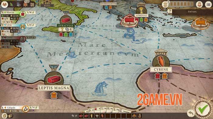 Concordia: Digital Edition - Phiên bản chuyển thể của boardgame chiến thuật nổi tiếng 1