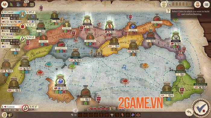 Concordia: Digital Edition - Phiên bản chuyển thể của boardgame chiến thuật nổi tiếng 2