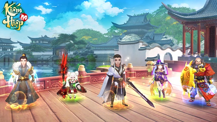 Kiếm Hiệp GO - Một võ lâm mới, một hành trình mới dành riêng cho game thủ Việt 1