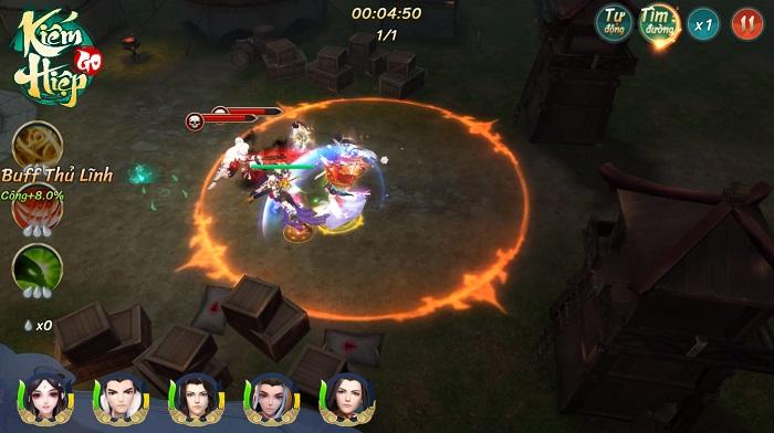Kiếm Hiệp GO - Một võ lâm mới, một hành trình mới dành riêng cho game thủ Việt 3