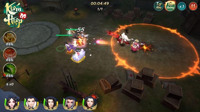Kiếm Hiệp GO - Một võ lâm mới, một hành trình mới dành riêng cho game thủ Việt 4