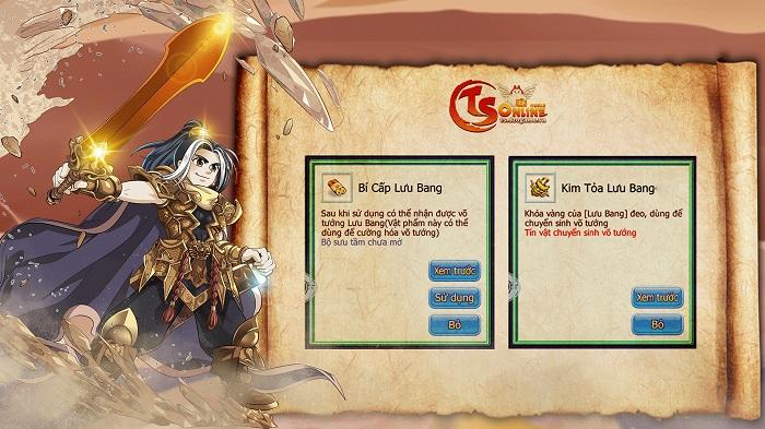 TS Online Mobile tặng quà ngập mặt cho game thủ ở máy chủ mới Tam Quốc 1