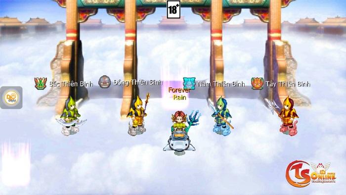 TS Online Mobile tặng quà ngập mặt cho game thủ ở máy chủ mới Tam Quốc 2