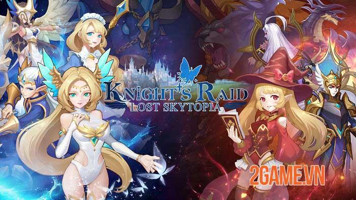 Knight's Raid: Lost Skytopia - Game nhập vai nhàn rỗi giả tưởng lối chơi sáng tạo 0