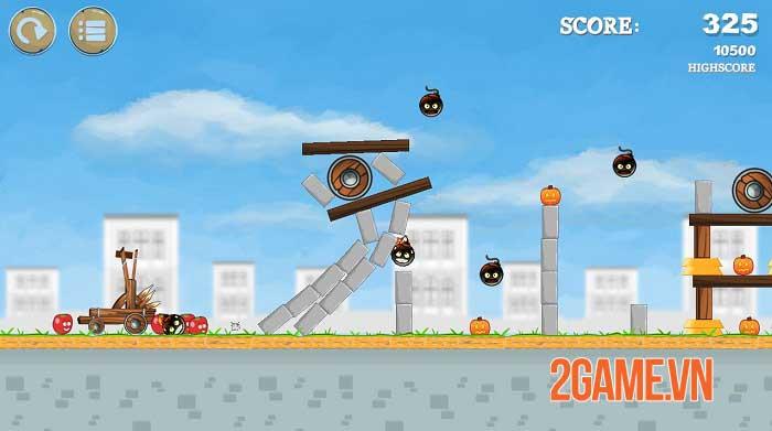 Pumpkins Knock Down - Game bắn súng cao su dựa trên vật lý độc đáo 0