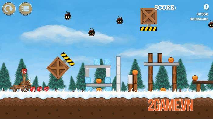 Pumpkins Knock Down - Game bắn súng cao su dựa trên vật lý độc đáo 2