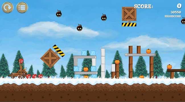 Pumpkins Knock Down – Game bắn súng cao su dựa trên vật lý độc đáo