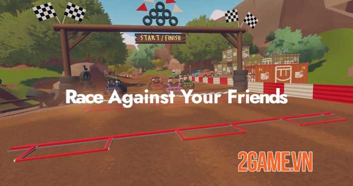 Rec Room ra mắt tựa game đua xe đa nền tảng nhiều người chơi - Rec Rally 2